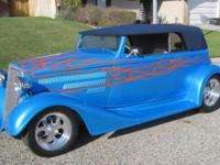 1934 CHEVROLET PHANTOM STREET ROD EXTREMELY CLEAN AND