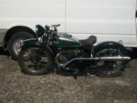 1935 BSA Blue star special This machine was sold in