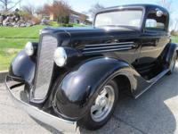 This is a Rare all steel 1935 Buick 3 Window Coupe,