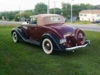 Buick Series 40 Convertible . . This rare Model 46C