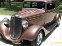 2 door sedan coach steel body, Always garaged, Metallic