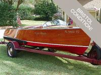 Brawny inboard motors, adoringly crafted wood hulls,