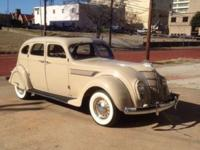 1935 Chrysler Airflow 4DR Sedan ..28,000 Original