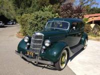 1935 Ford V8 4 door sedan. Full Frame up restoration.