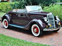 1935 Ford Roadster Convertible. -1 0f less then 1150