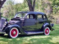 Krazy Rays Offering this 1935 Ford Fordor F48 Humpback