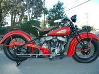 This 1935 Indian Chief has simply under went a 21/2