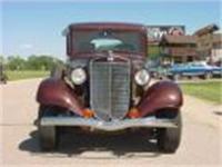 1935 International Pickup. Stock and original looking