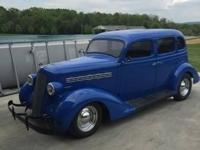 Take a step back in time with 1935 Plymouth Sedan! This