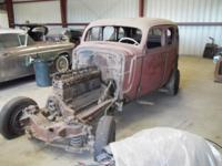 1936 Buick Roadmaster 80, 4dr, Clean, not rusted, great