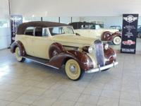 1936 Buick Roadmaster Series 80 Convertible 4 Door.