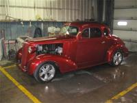Just in is this beautiful 1936 Chevy 5 window coupe