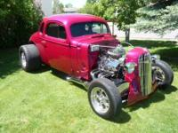This is a show ready beautiful custom hot rod Fully
