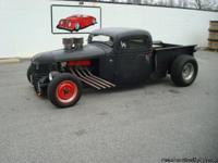 Stk#009 1936 Chevy PickUp 'Rat Rod' Exterior: Body is