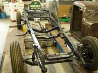 1936 Chevy 1/2 ton chassis, includes steering box and