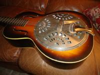 A nice 1936 Dobro with no wood repairs. This is a nice