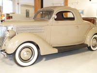 In 1936 Ford moved the engine forward 8.5 inches, body