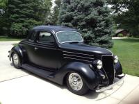 1936 Ford 5 Window Henry Steel Coupe. Solid Henry
