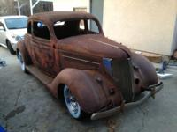 Super solid body, surface rust on body and fenders,