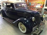 1936 Ford Convertible for sale (CA) - $55,000 Numbers