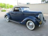 1936 Ford Deluxe Roadster for sale (OK)-$87,900