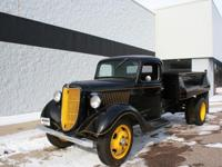1936 Ford Dump TruckHere is an extremely rare, totally