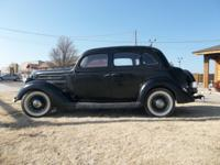 ONLINE AUCTION: 1936 FORD MODEL 48  UNRESTORED ENDING