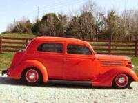 1936 Ford Tudor humpback. Located in Greencastle,