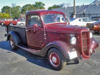 36 Ford Pick Up ... LOOKS original ... BUT ...... she
