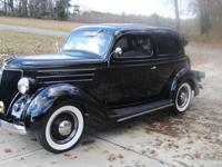 VERY NICE 1936 FORD. RUNS AND DRIVES THE BEST OF ANY
