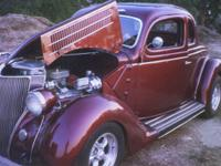 Beautiful 1936 Ford Swindo Coup for sale. Runs