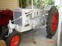 This is a really nice tractor its, a1936 ji Case RC