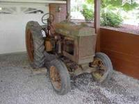 1936 JOHN DEER B ORCHARD TRACTOR ONE OF 250 EVER MADE