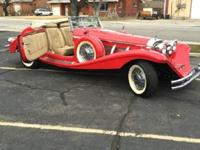1936 Mercedes-Benz 500-Series 2-Door Convertible -For a