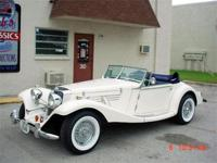 1936 Mercedes 500k Marlene replica, V6