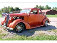1936 Plymouth Street Rod , All STeeL 5 Window Business