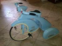 I have a Baby Blue 1936 Sky King Tricycle Replica. You