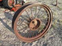 ....from 1936 Farmall F12. In excellent condition,