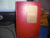 For Sale: 1937 & 1940 Books-Samuel Logan
