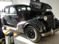 1937 Buick Special Trunkback Sedan Model 41 All