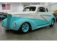 Presented here is a customized 1937 Chevrolet Business