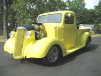 1937 Chevy Truck. The truck has a Built 350 with a