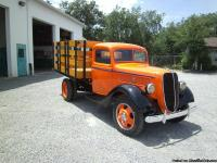 1937 Ford 1 ton stake body truck......frame off