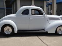 1937 Ford 5 window Coupe. All steel, 327 cid Chevy,