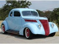 1937 Ford 5 Window Custom - ALL REAL STEEL! Everywhere