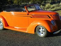 1937 Ford Cabriolet. Gibbon Body with Lift off top.
