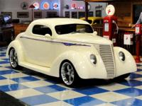 "1937 Ford 3 Window Coupe aka:""the Cream Puff"". Painted"