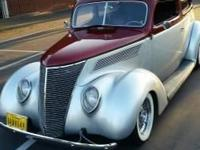 1937 Ford Humpback Sedan For Sale in La Habra,