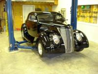 1937 Ford, zz502/502 Street & Performance, TCI Chassis
