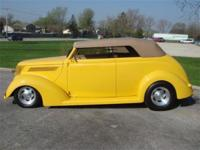 1937 Ford Phaeton. This all steel Ford has a chopped